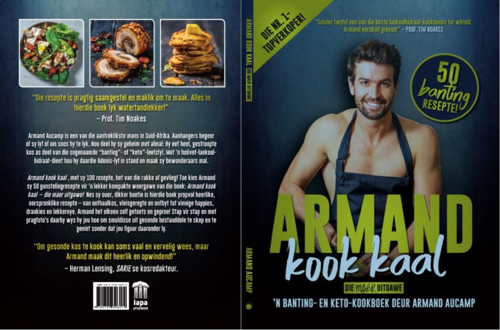 Boekresensie: Armand kook kaal – die maer uitgawe