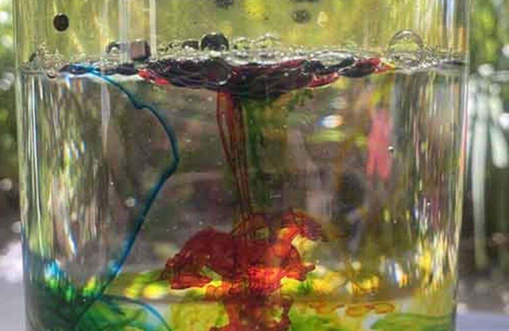 Xperiland eksperiment: Vuurwerke in glas